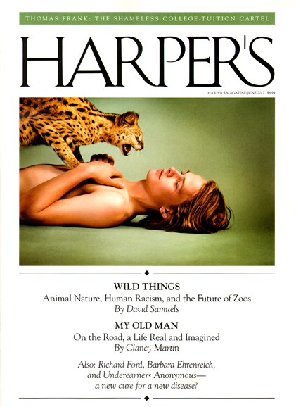 Harper's Cover - 6/1/2012