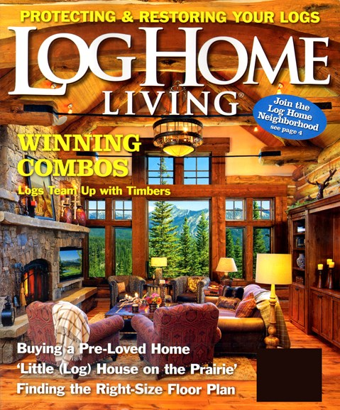Log and Timber Home Living Cover - 6/1/2012