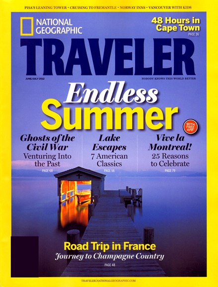 National Geographic Traveler Cover - 6/1/2012