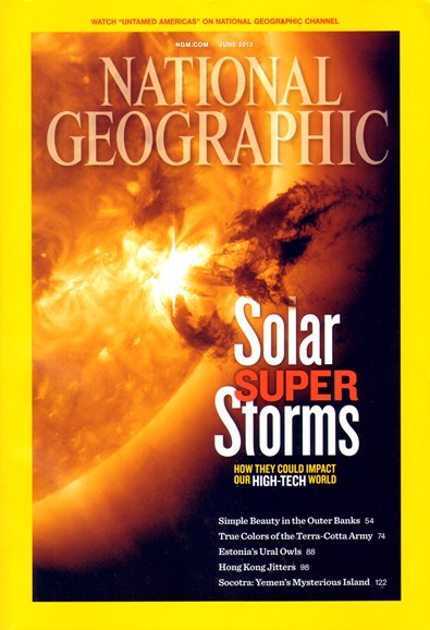 National Geographic Cover - 6/1/2012