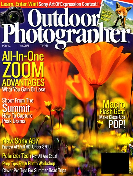Outdoor Photographer Cover - 6/1/2012