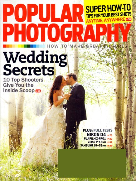 Popular Photography Cover - 6/1/2012