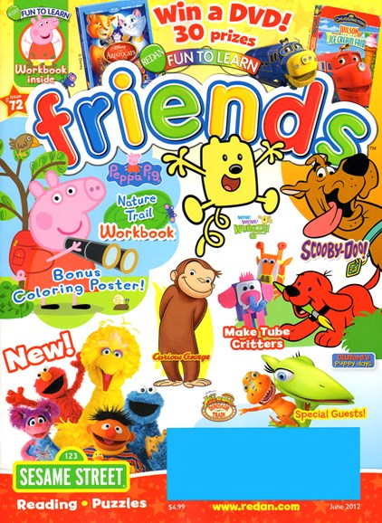 Preschool Friends Cover - 6/1/2012