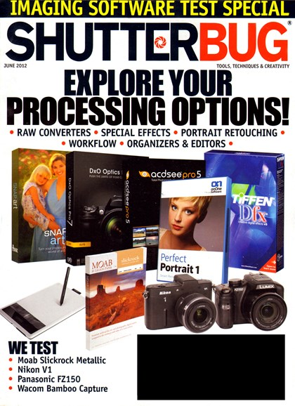 Shutterbug Cover - 6/1/2012