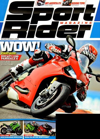 Sport Rider Cover - 6/1/2012