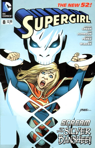 Supergirl Cover - 6/1/2012