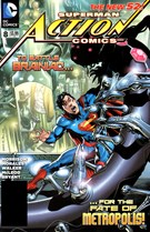 Superman Action Comics 6/1/2012