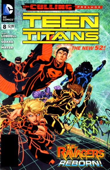 Teen Titans Cover - 6/1/2012