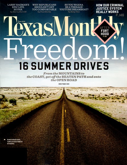 Texas Monthly Cover - 6/1/2012