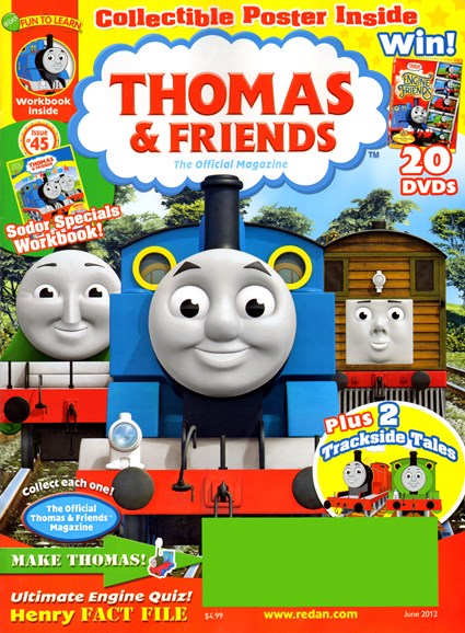 Thomas & Friends Cover - 6/1/2012