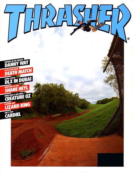 Thrasher Cover - 6/1/2012