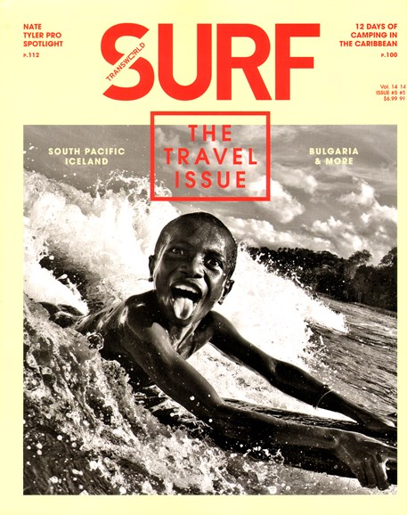 Transworld SURF Cover - 6/1/2012