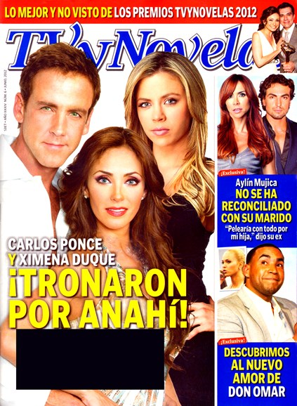 Tv Y Novelas Cover - 6/1/2012