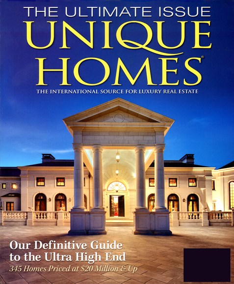 Unique Homes Cover - 6/1/2012