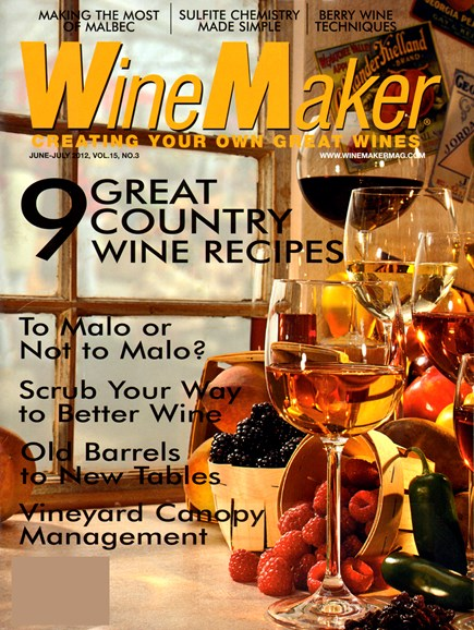 Winemaker Cover - 6/1/2012