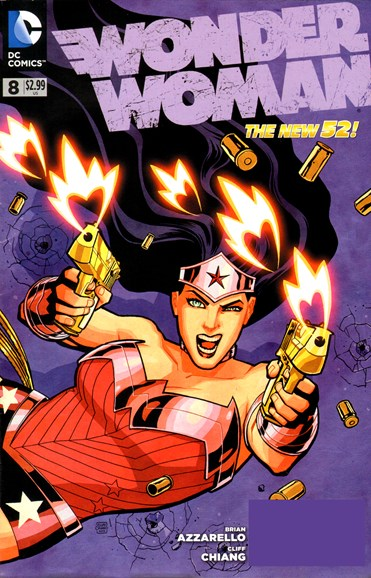 Wonder Woman Cover - 6/1/2012