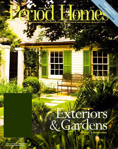 Period Homes Cover - 5/1/2012