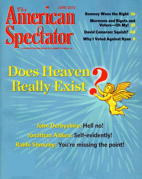The American Spectator Cover - 6/1/2012