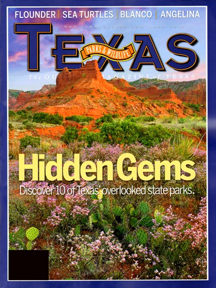 Texas Parks & Wildlife Cover - 6/1/2012