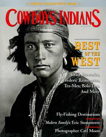 Cowboys & Indians Cover - 6/1/2012