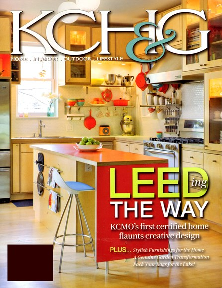 Kansas City Homes & Gardens Cover - 6/1/2012