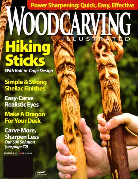 Wood Carving Illustrated Cover - 6/1/2012