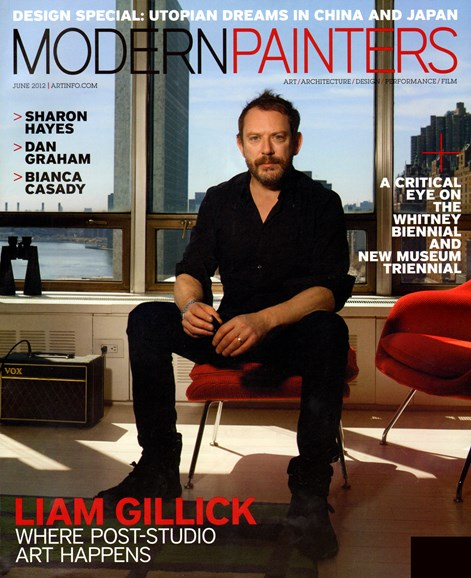 Blouin Modern Painters Cover - 6/1/2012