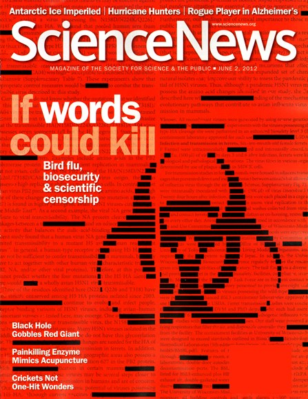Science News Cover - 6/2/2012