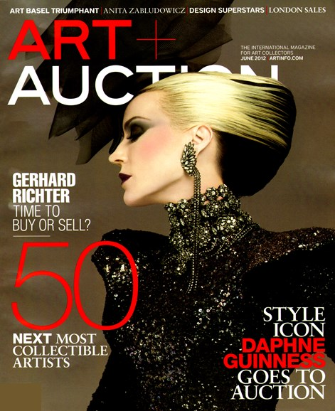 Blouin Art & Auction Cover - 6/1/2012
