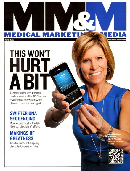 Medical Marketing & Media Cover - 6/1/2012