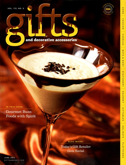 Gifts And Decorative Accessories Cover - 6/1/2012