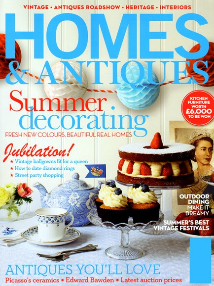 Homes & Antiques Cover - 6/1/2012