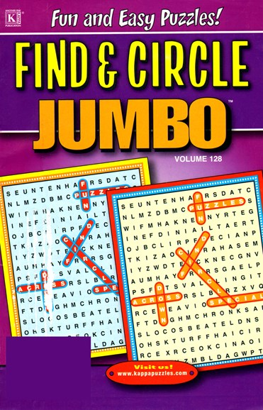 Find & Circle Jumbo Cover - 6/1/2012