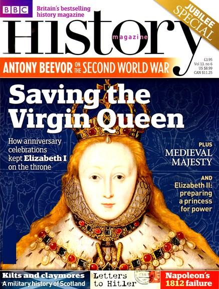 BBC History Cover - 6/1/2012