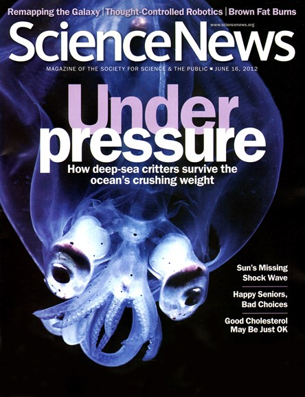 Science News Cover - 6/16/2012