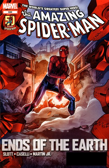 Amazing Spider-Man Cover - 7/7/2012