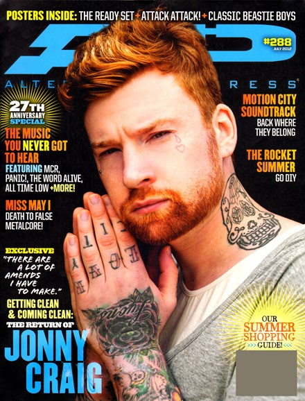 Alternative Press Cover - 7/1/2012