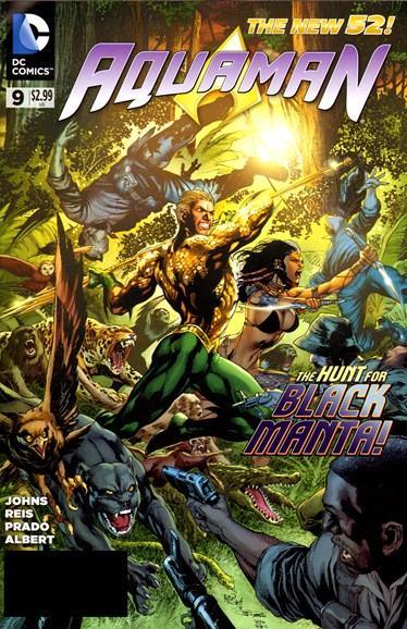 Aquaman Cover - 7/1/2012