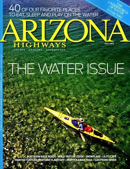 Arizona Highways Cover - 7/1/2012
