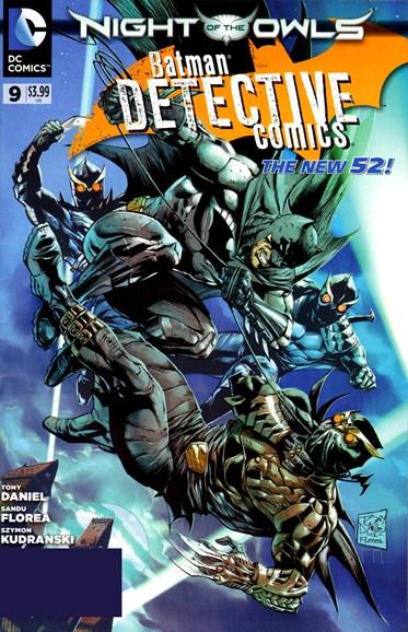 Detective Comics Cover - 7/1/2012