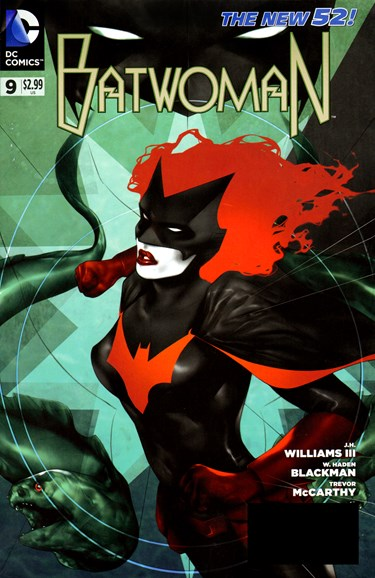 Batwoman Cover - 7/1/2012