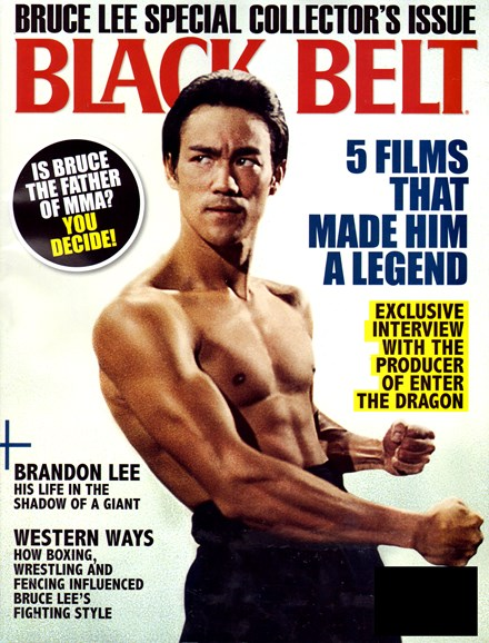 Black Belt Magazine Cover - 7/1/2012