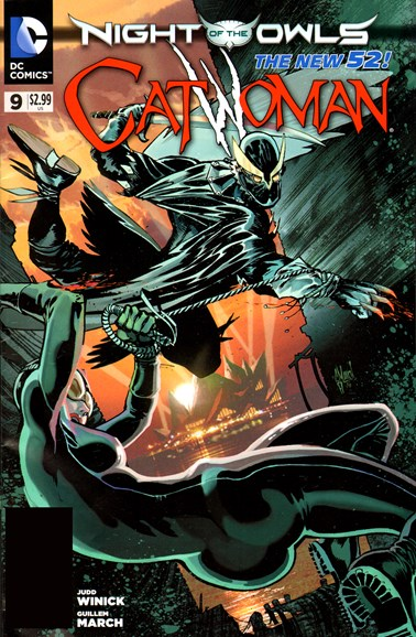 Catwoman Cover - 7/1/2012