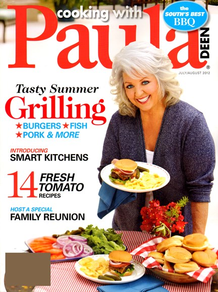 Cooking With Paula Deen Cover - 7/1/2012