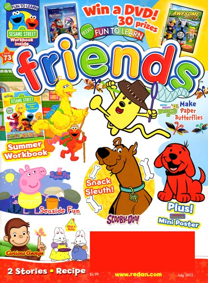 Preschool Friends Cover - 7/1/2012