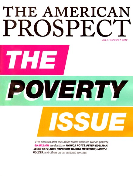 The American Prospect Cover - 7/1/2012