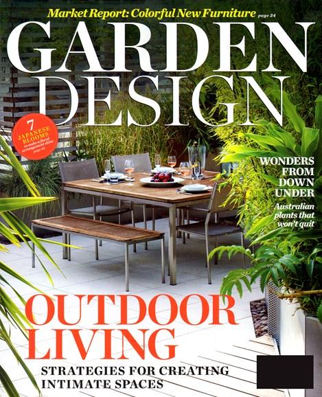Garden Design Cover - 7/1/2012