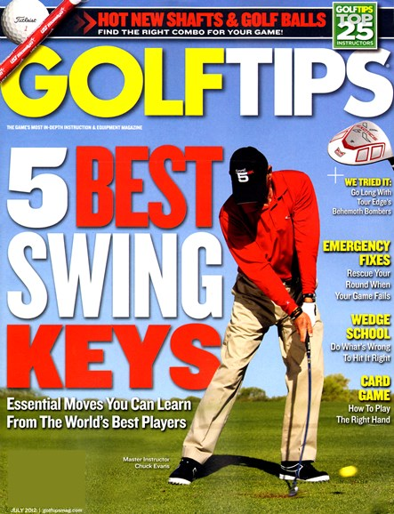 Golf Tips Cover - 7/1/2012