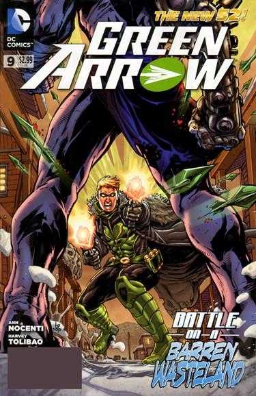 Green Arrow Cover - 7/1/2012