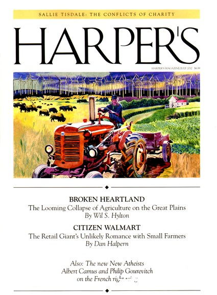 Harper's Cover - 7/1/2012